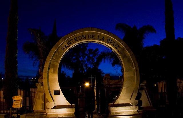 Panteón de la Cruz, uno de los panteones de Aguascalientes